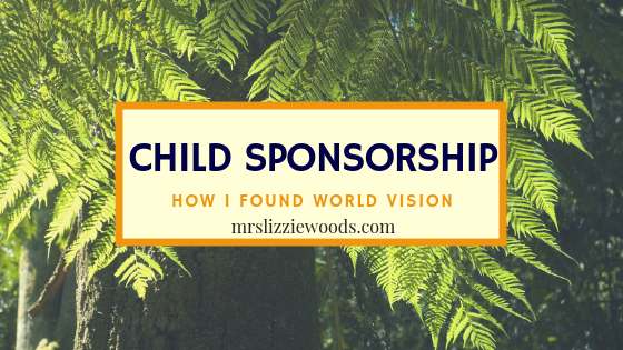 My Child Sponsorship Story